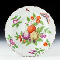 Chelsea Porcelain Dessert Plate c1765