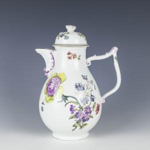 A Fine Meissen Porcelain CoffeePot c1750