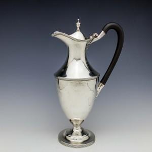 George III Sterling Silver Claret Jug London 1789