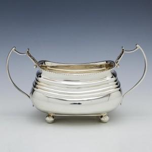 Georgian Sterling Silver Sucrier London 1813