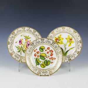 Three early 19th Century Botanical Plates