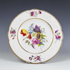 A Swansea Porcelain Plate c1820