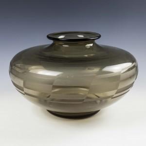 Large Daum Art Deco Glass Vase c1930