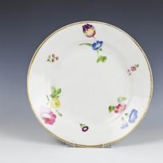 Impressed Marks Swansea Porcelain Plate c1820