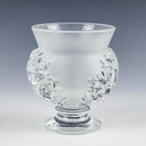 Lalique- St. Clouds Vase With Acanthus Leaf c.1965