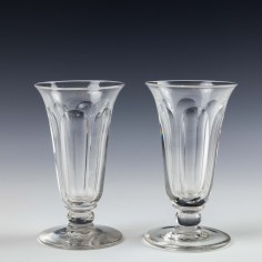 A Pair of Victorian Jelly Glasses c1870