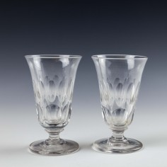 Pair of Victorian Jelly Glasses c1860