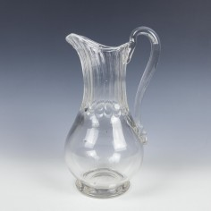 An Early 19th Century  Glass Cider Jug
