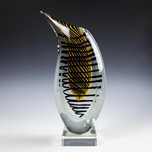 Tall Engraved European Glass Beaker c1775