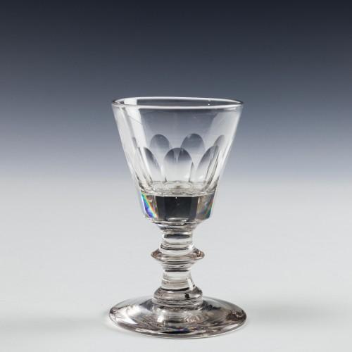 A Victorian Dram Glass c1860