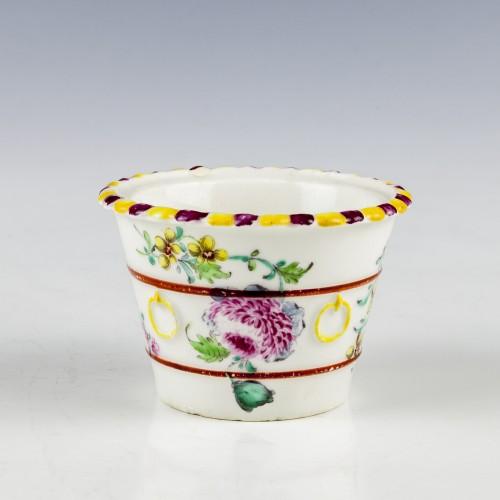 Bow Porcelain Model Flower Pot c1760