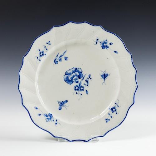 Caughley Gilliflower Pattern Plate c1780