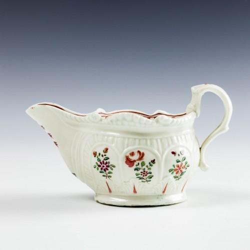 Philip Christian Liverpool Porcelain Sauceboat c1770