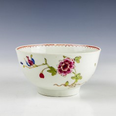 John Pennington Small Polychrome Bowl c1775