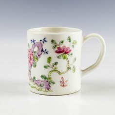 Early Bow Porcelain Coffee Can c1750