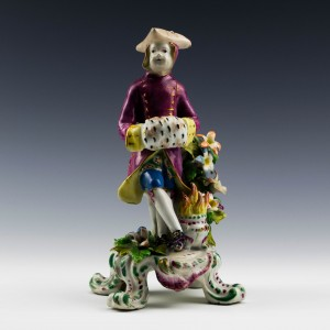 RESERVED- Bow Porcelain Figure of Winter c1765