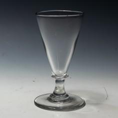 Georgian Capstan Stem Ale Glass c1800