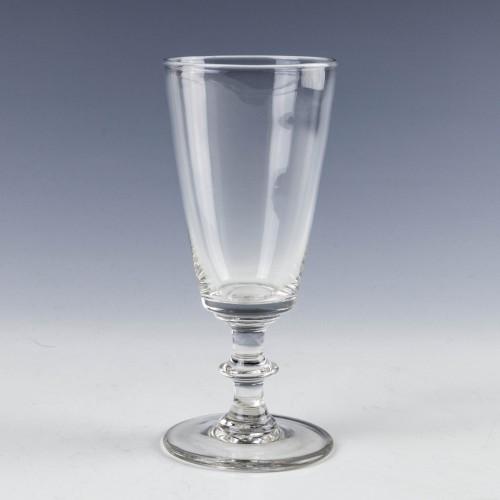 A Plain Stemmed Ale Glass c1845