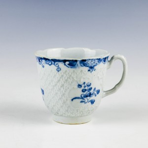 Rare William Reid Pineapple Moulded Coffee Cup c1758