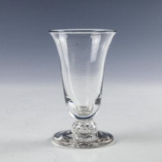 Jelly Glass With Air Beaded Stem c1765