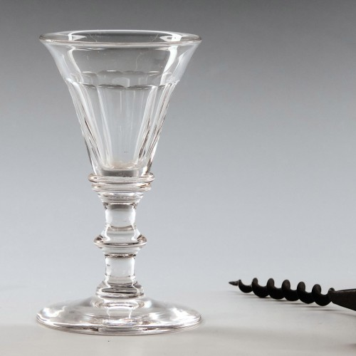 Victorian Gin Glass c1850