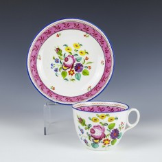 Machin Teacup and Saucer c1815