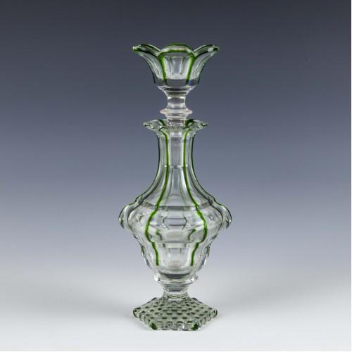 Cristalleries de Saint Louis Perfume Bottle c1870