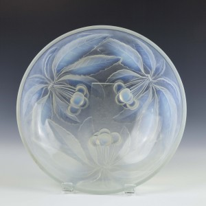French Opalescent Bowl by Vallon c1935