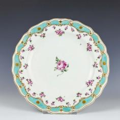 Chelsea Derby Porcelain Plate c1780