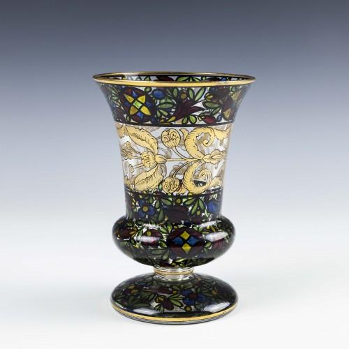 Julius Muhlhaus Decorated Vase c1910-15