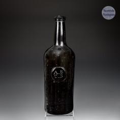 University of Oxford ASCR Sealed Wine Bottle c1820