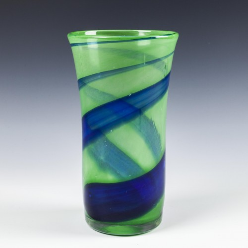 A Large Paul Miller Langham Glass Vortex Vase from c1980