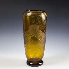 A Legras Mont Joye Art Deco Vase c1930
