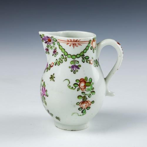 Lowestoft Porcelain Sparrowbeak Jug c1785