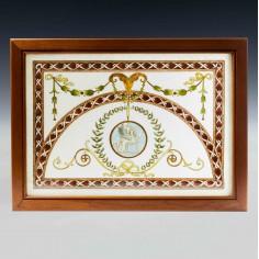 Fredric Vidal Puig  Glass Bead Cloisonne  Artwork c1900