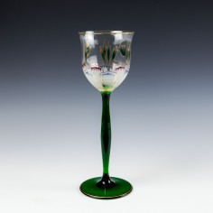 A Theresienthal Wine Glass c1905