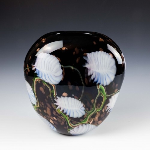 A Large Murano Vase c1980
