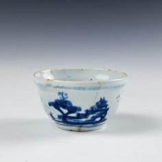 Lowestoft Porcelain Toy Sucrier c1760
