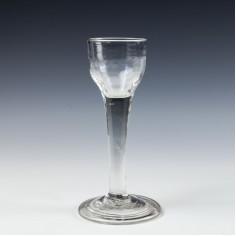 18th Century Wine Glass c1745