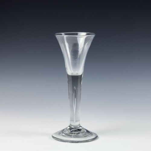 A Georgian Wine Or Cordial Glass c1750