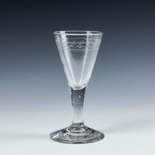 Georgian Gin Glass - c1780