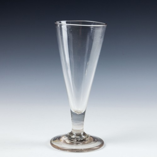 18th Century Plain Stem Ale Glass c1760