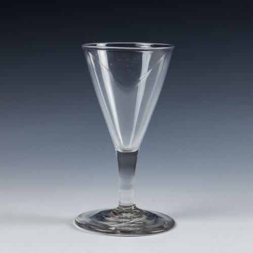 A Georgian Gin Glass - c1800