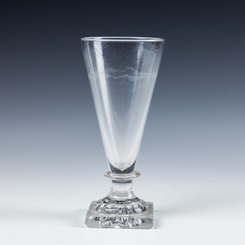 Georgian Ale Glass Lemon Squeezer Foot c1800