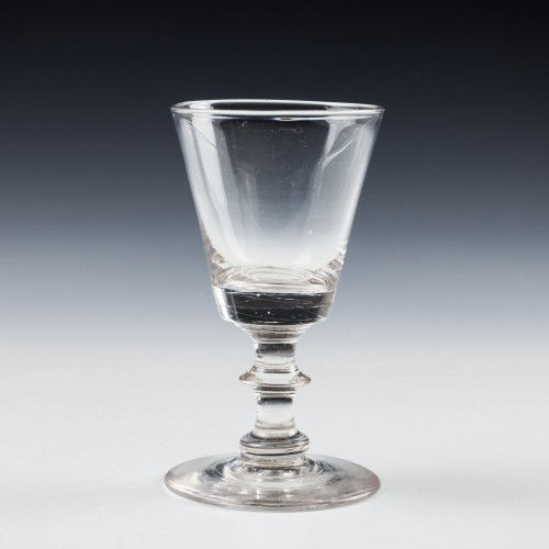 A Bucket Bowl Dram Glass c1830