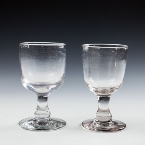 Two Victorian Tavern Glasses 'Cowpers Arms Hotel' c1880