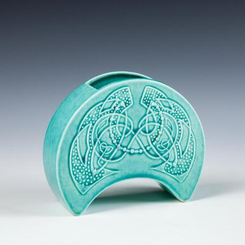 "Scottish Pottery "" Three Bridges""  Art Deco Vase c1925"