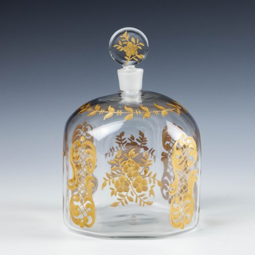 An Engraved and Gilded Perfume Bottle - c1890