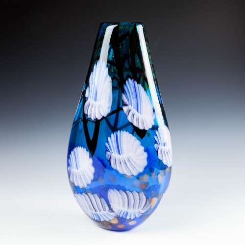 Large Murano Art Glass Vase c1980