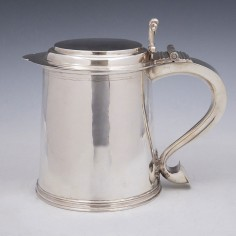Britannia Silver Three and a Half Pint Tankard London 1913